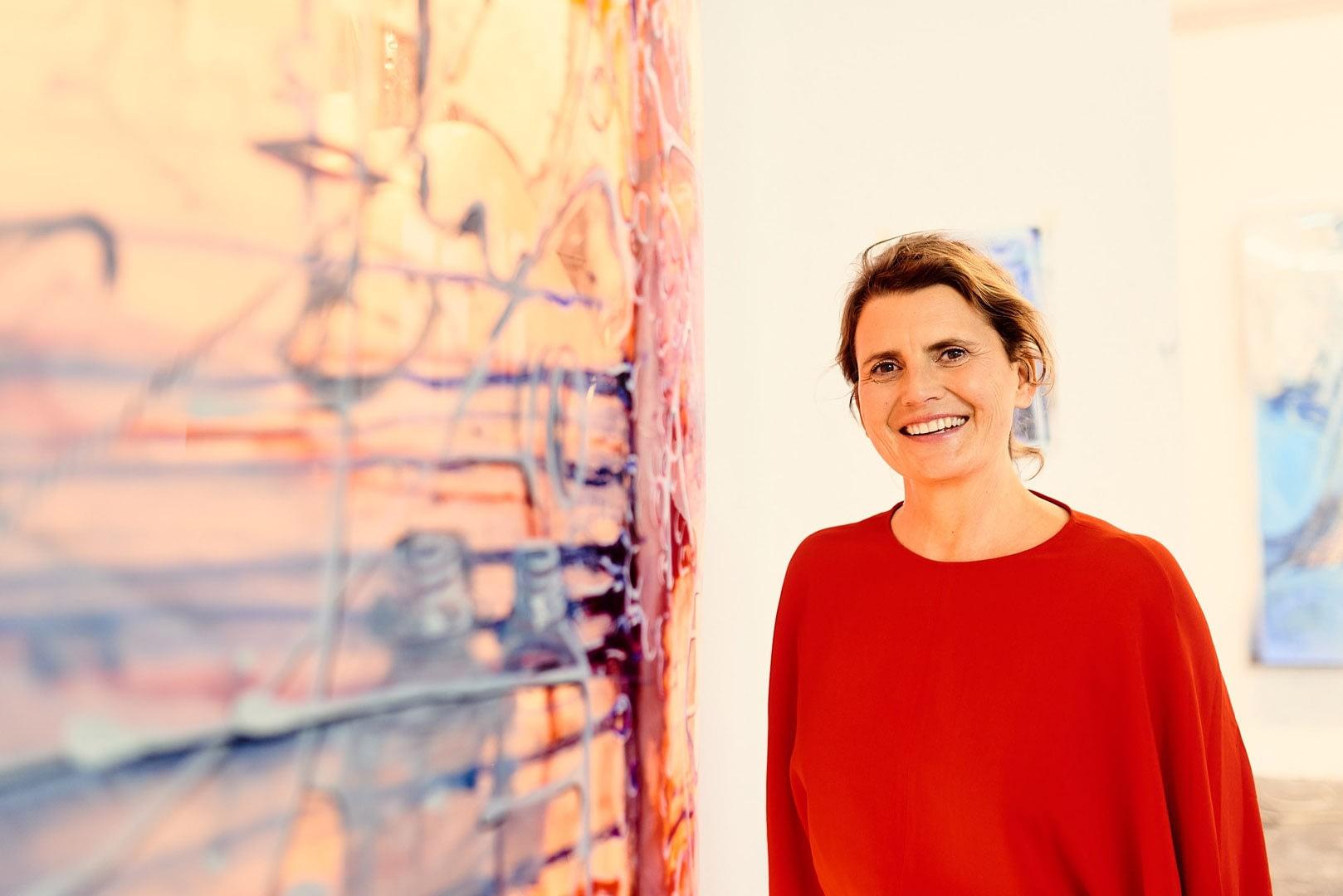 Andrea von Goetz und Schwanenfliess   Business Portraits 1