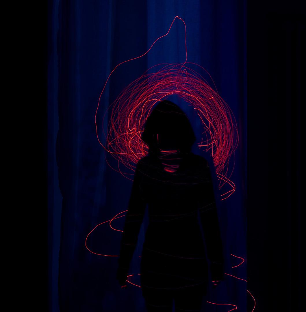 konzeptionelle Fotografie Laser Ghost0003