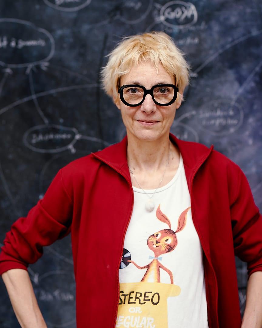 Valerie Favre Interview with coeuretart.com © Martin Peterdamm MPP 2061