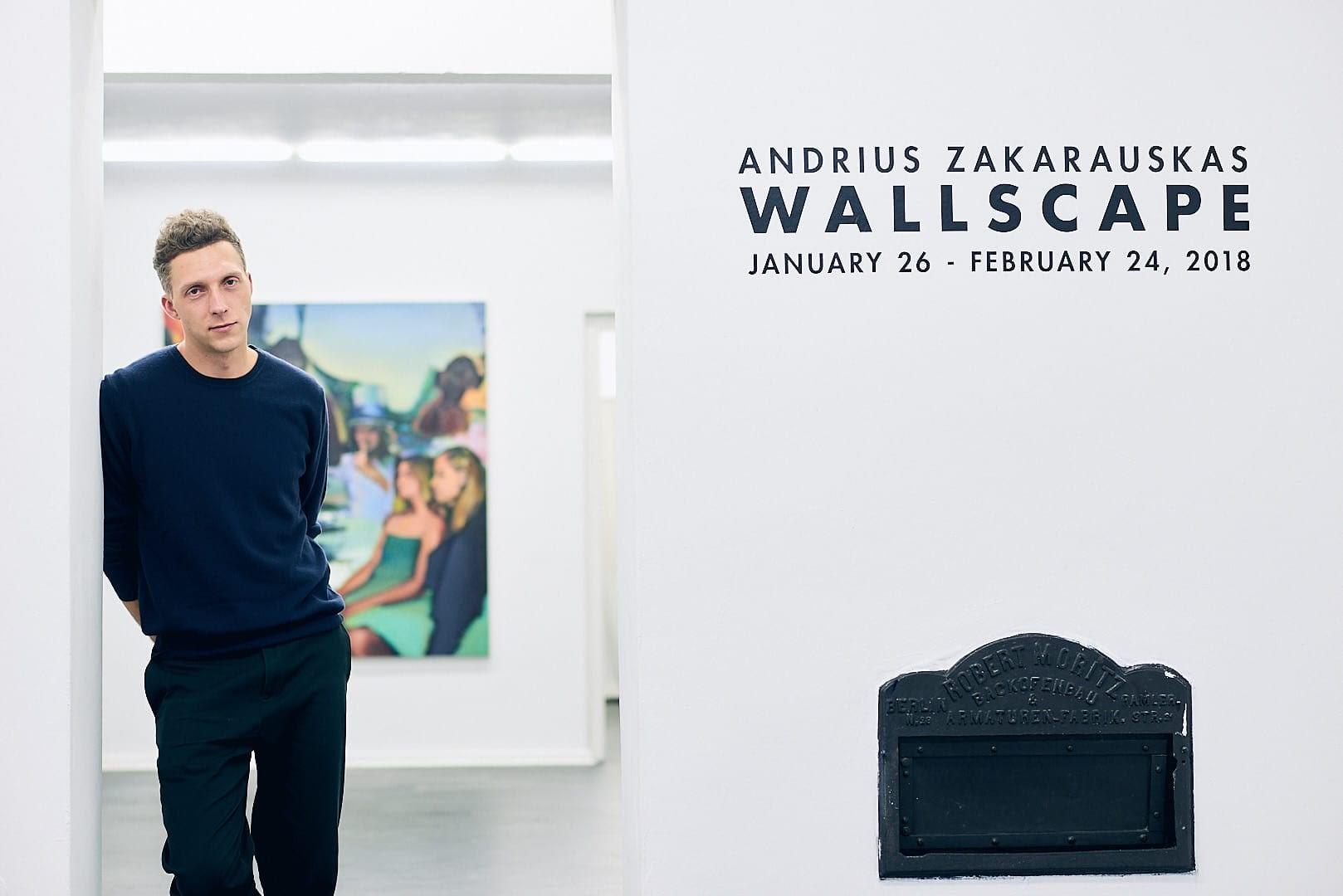 Maler Andrius Zakarauskas - Künstlerportrait 0891