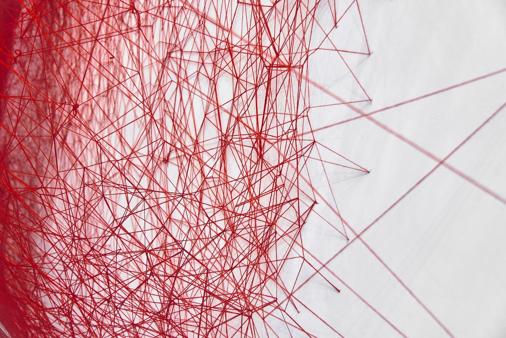 Chiharu Shiota at BlainSouthern für ArtBerlin 0063
