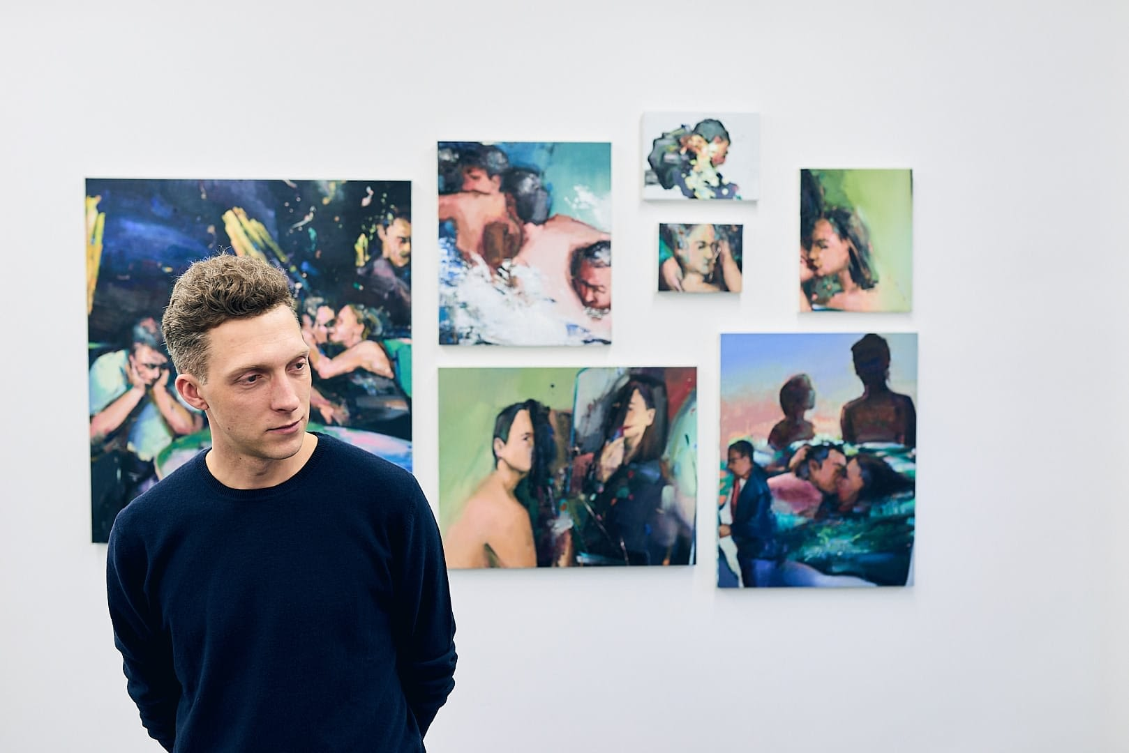 Maler Andrius Zakarauskas - Künstlerportrait 0859