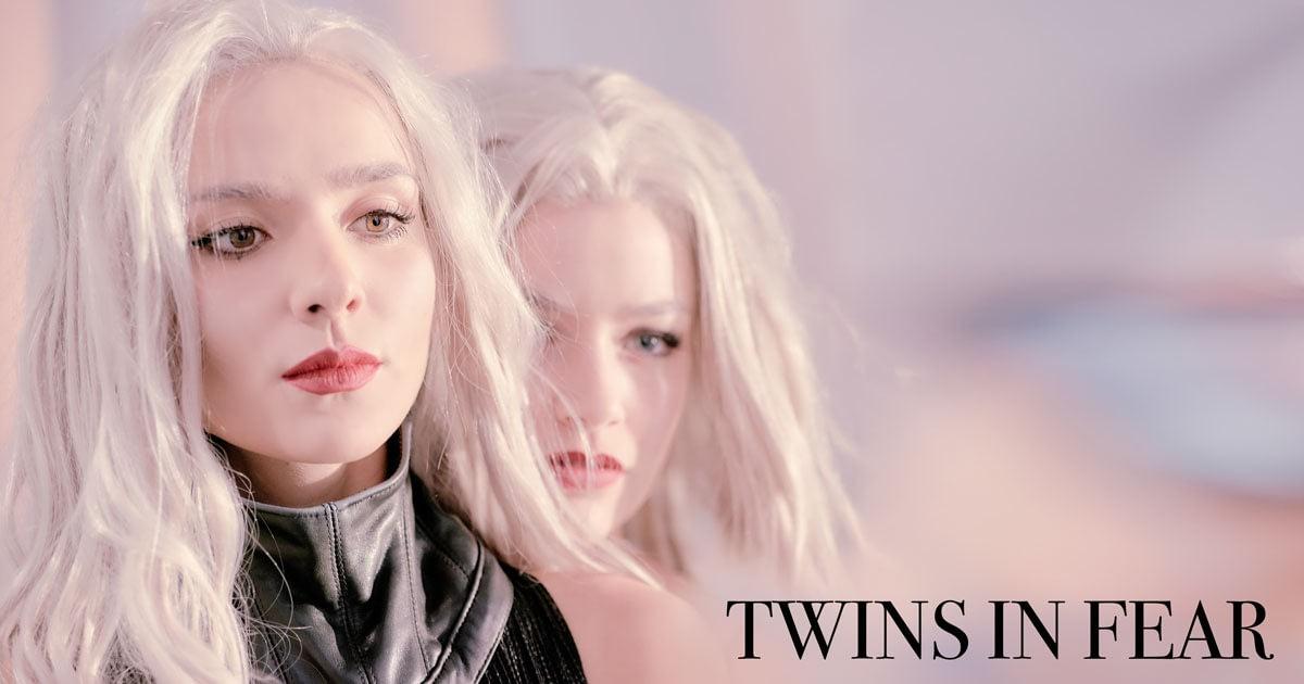 """Für das Debüt Album der Hamburger Elektro Band """"Twins in Fear"""" habe ich PR Fotos für Social Media, Presse Artikel und Plakate angefertig."""
