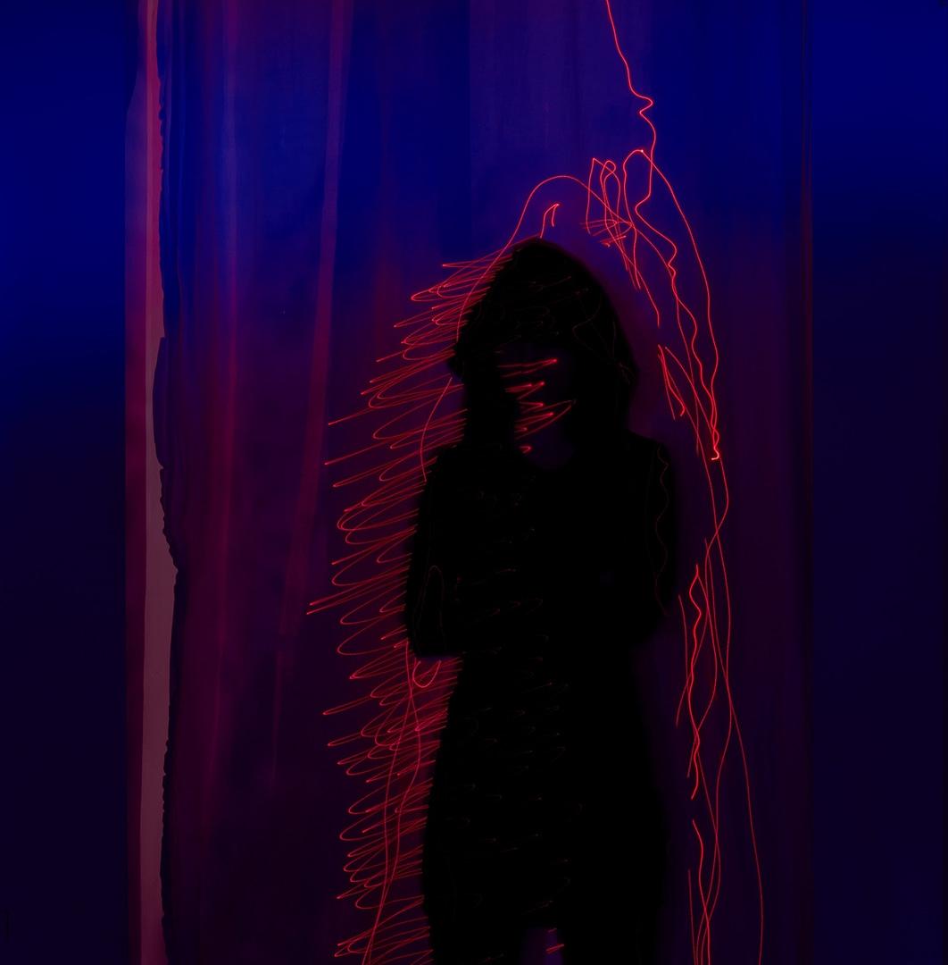 konzeptionelle Fotografie Laser Ghost0006
