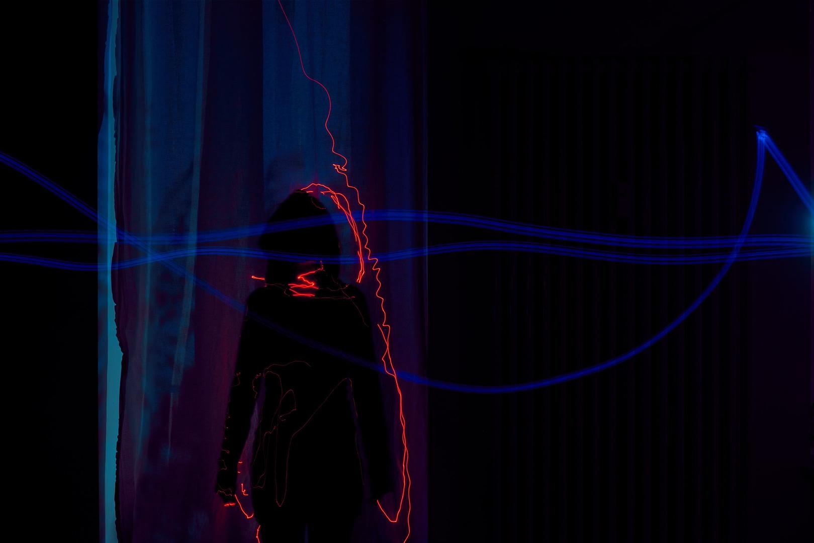 konzeptionelle Fotografie Laser Ghost0004