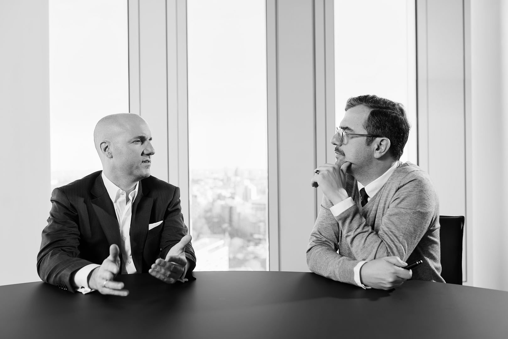 Corporate Portrait | Geschaeftsbericht Der Godewind AG | CEO und CFO