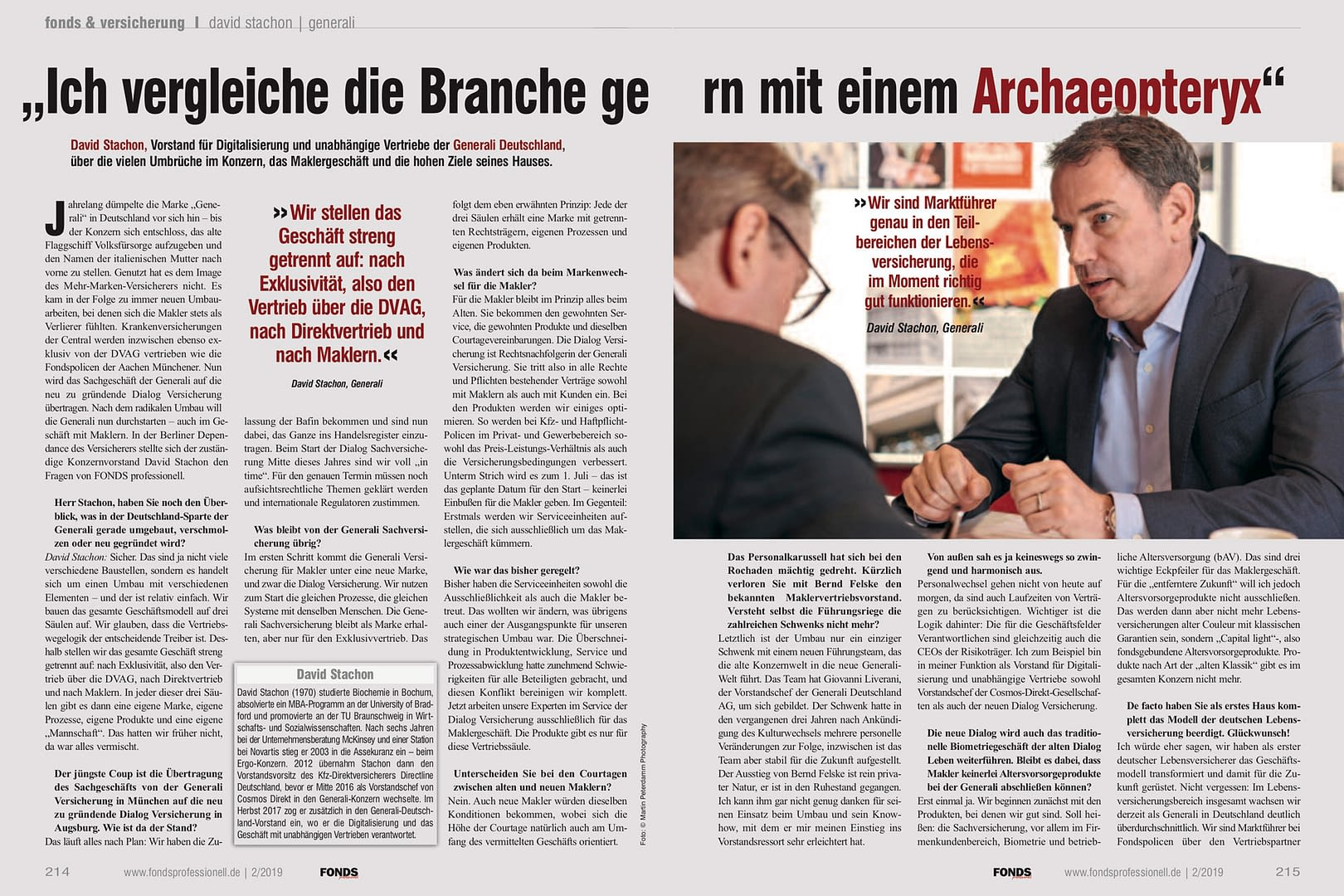 David Stachon Vorstand Generali Deutschland Interview 11