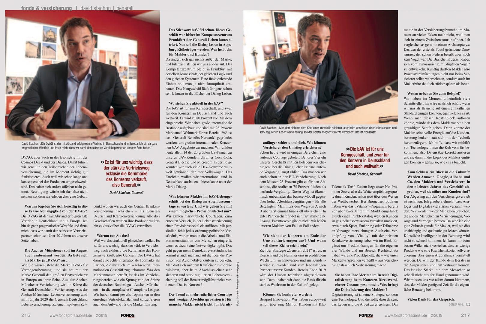 David Stachon Vorstand Generali Deutschland Interview 10