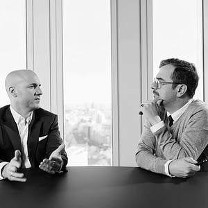 CEO und CFO  Corporate Portrait   Geschaeftsbericht Der Godewind AG