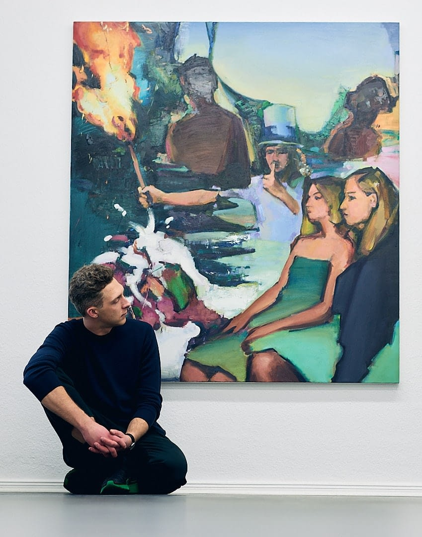 Maler Andrius Zakarauskas - Künstlerportrait 0874