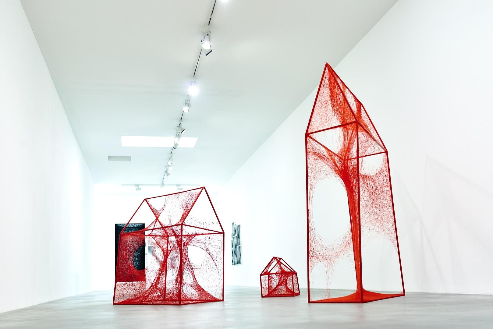 Chiharu Shiota at BlainSouthern für ArtBerlin 0095