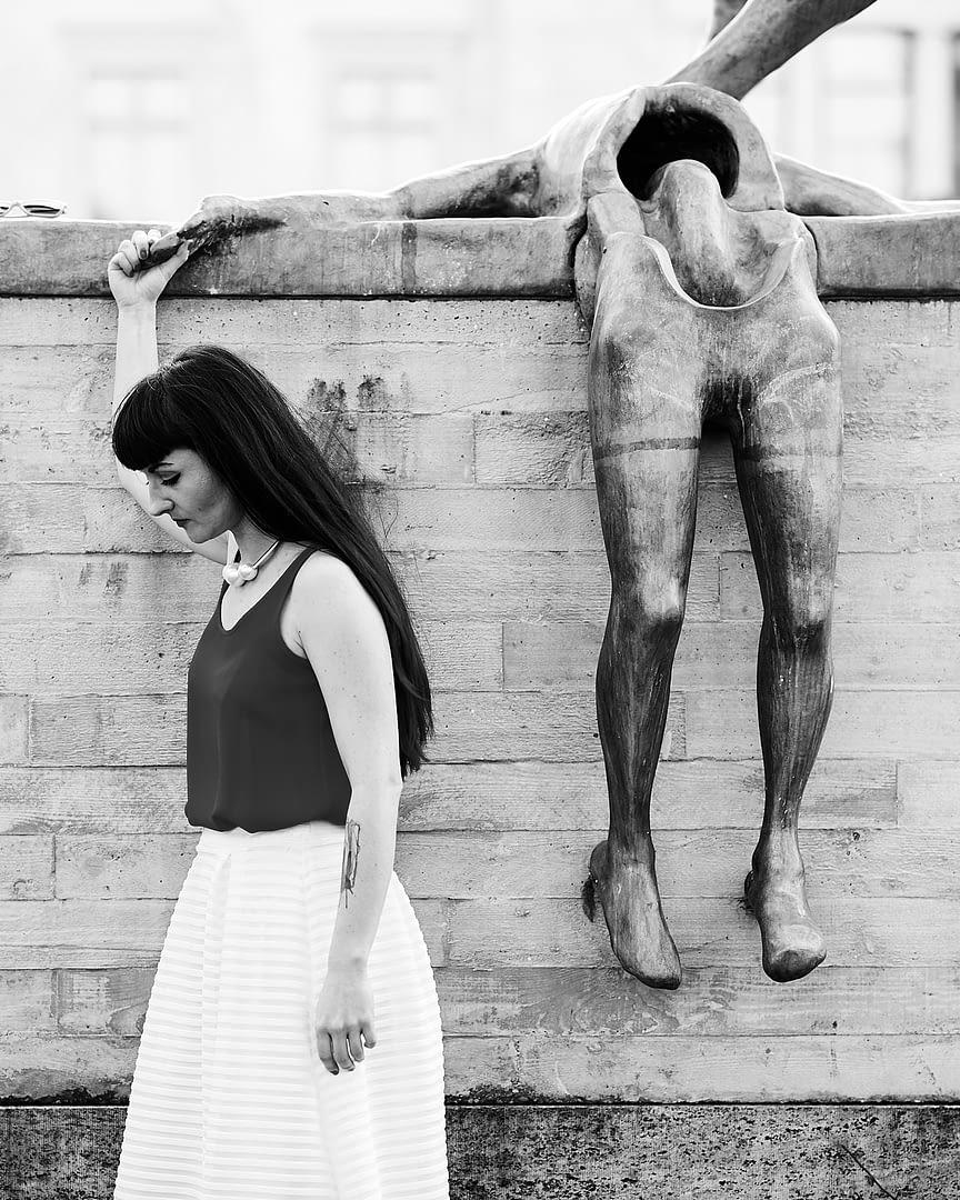 Fine-art Serie: Dancing with Ghosts   mit Kat de Ville 2