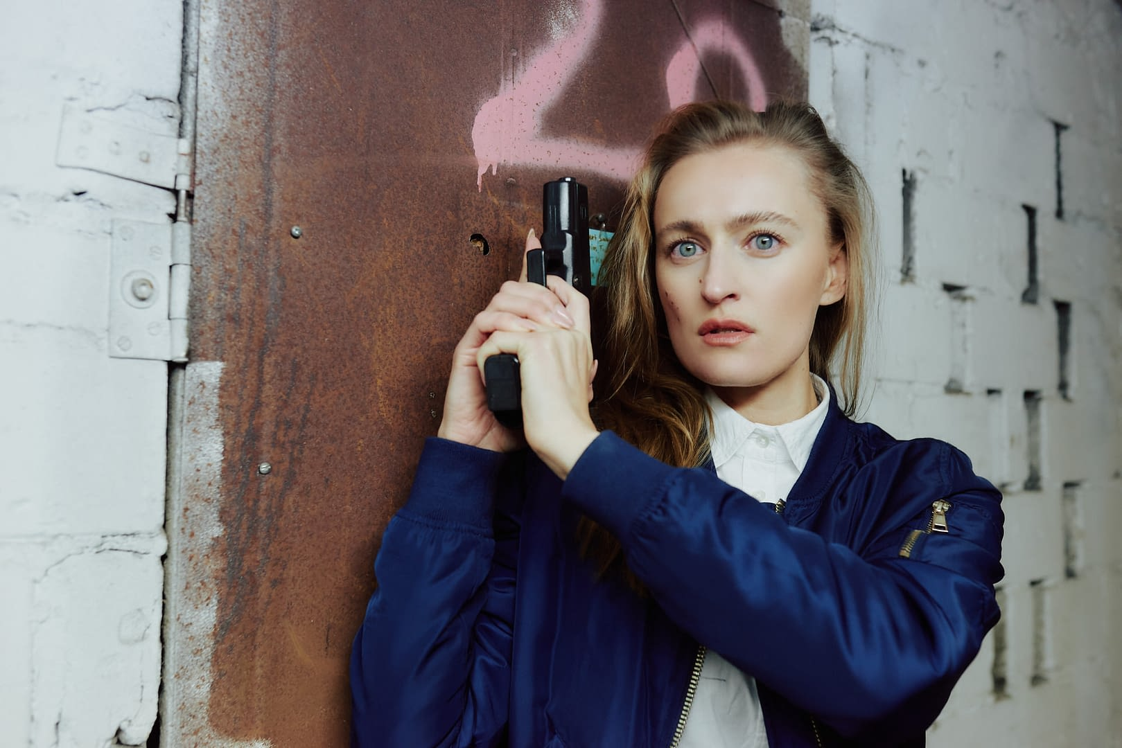 Schauspieler Fotos: Kristina Neuwert als Action Protagonistin