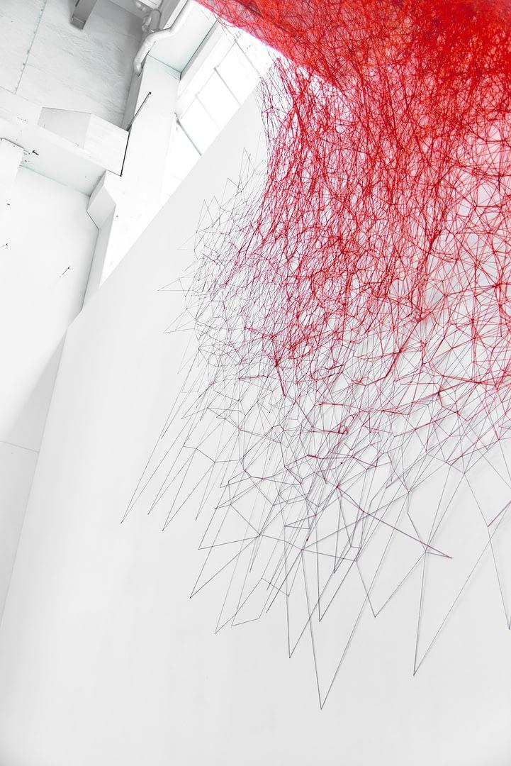 Chiharu Shiota at BlainSouthern für ArtBerlin 0079