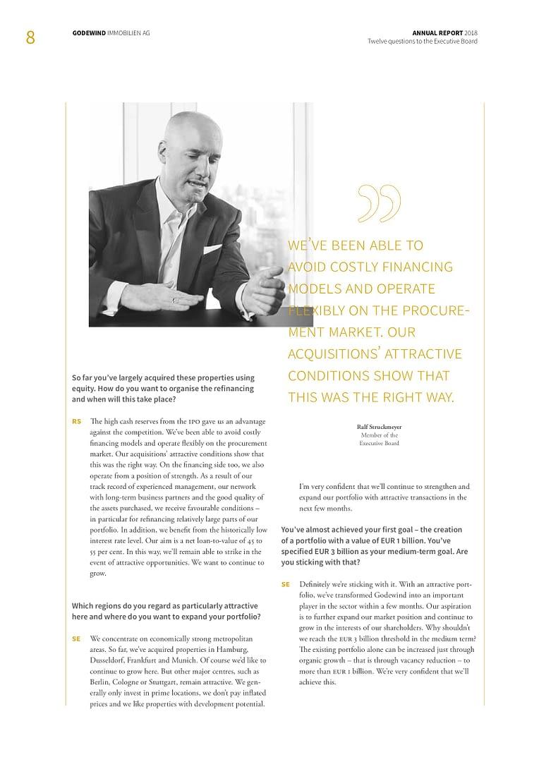 Godewind Annual Report 2018
