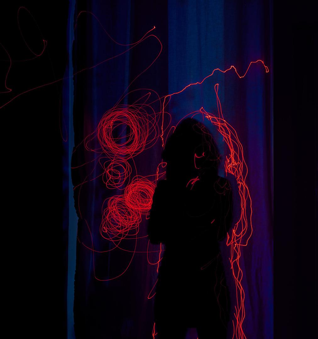 konzeptionelle Fotografie Laser Ghost0005