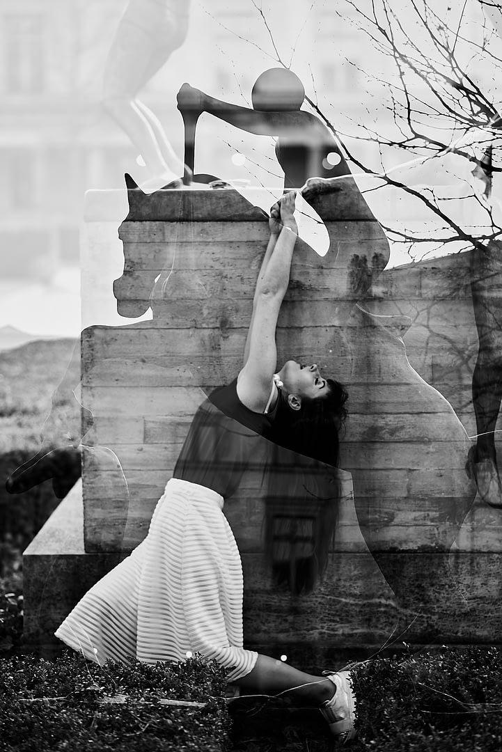 Fine-art Serie: Dancing with Ghosts | mit Kat de Ville 4