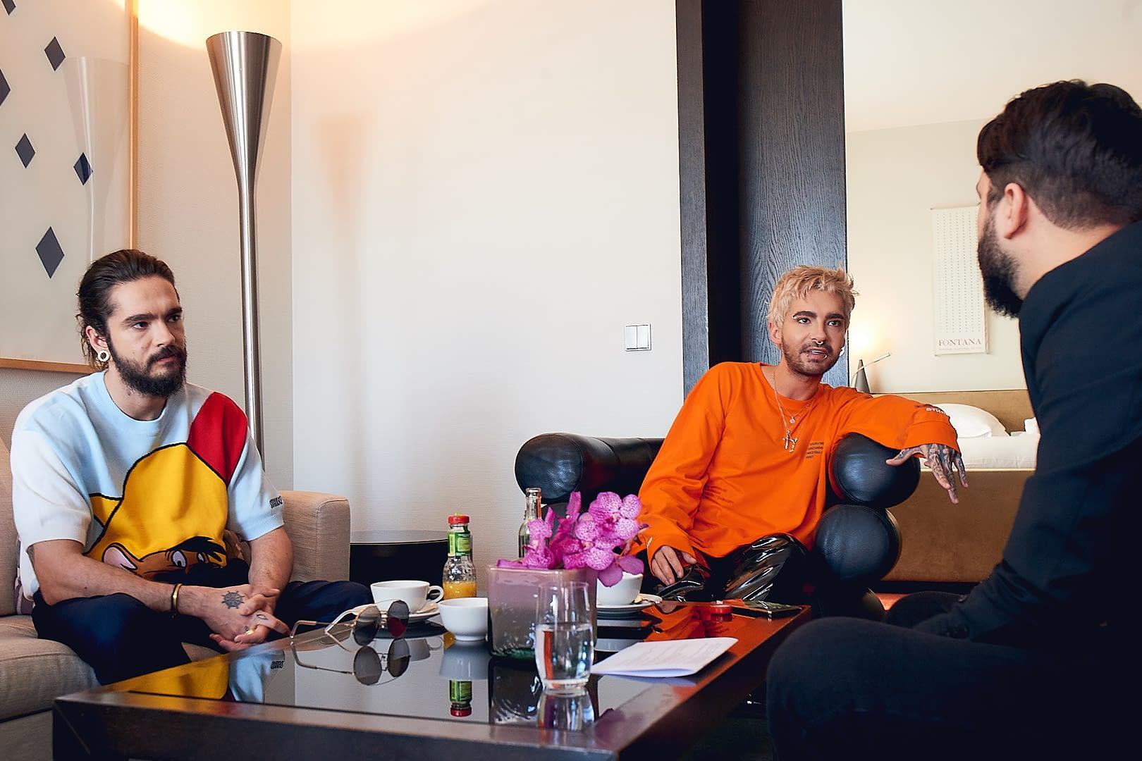 Tokio Hotel im NOIZZ Interview 1