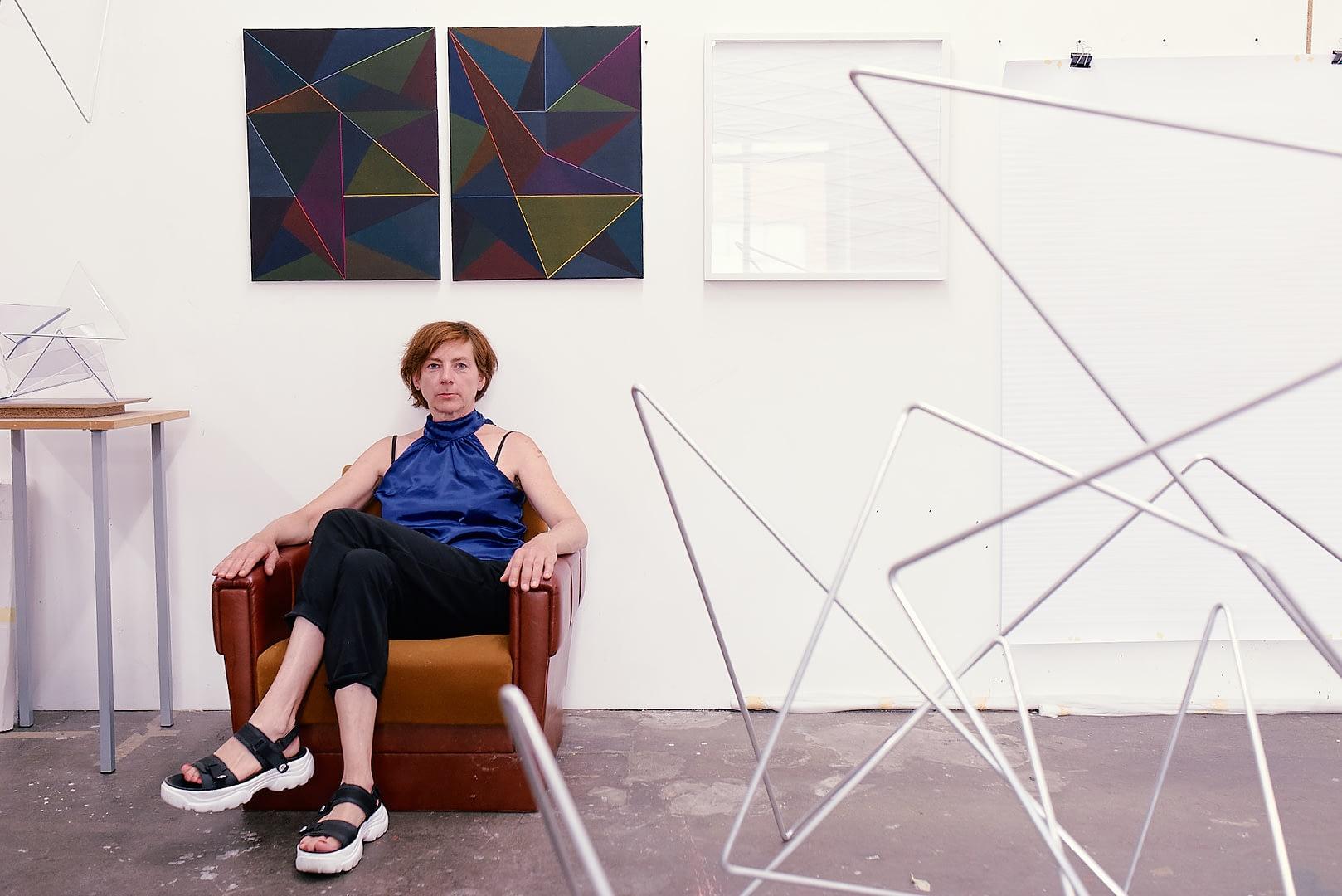 Antje Blumenstein Interview with coeuretart.com © Martin Peterdamm MPP 2297