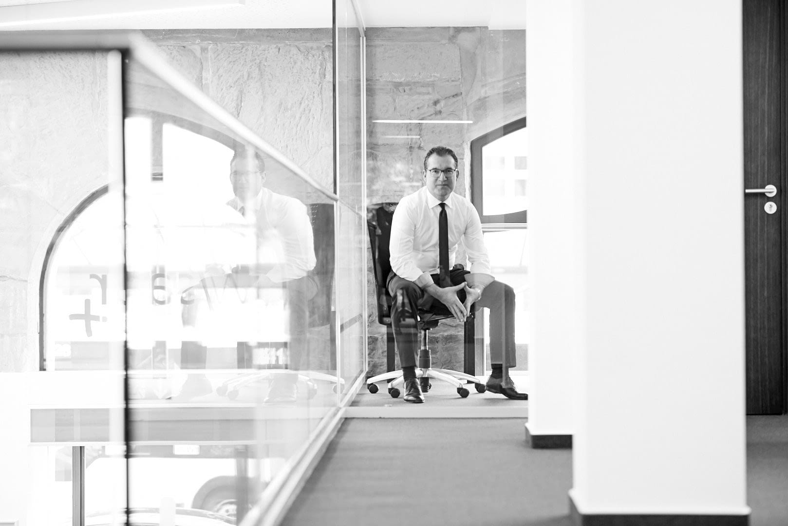 Corporate Portrait Serie für die VOLKSBANK WESTLICHE SAAR PLUS