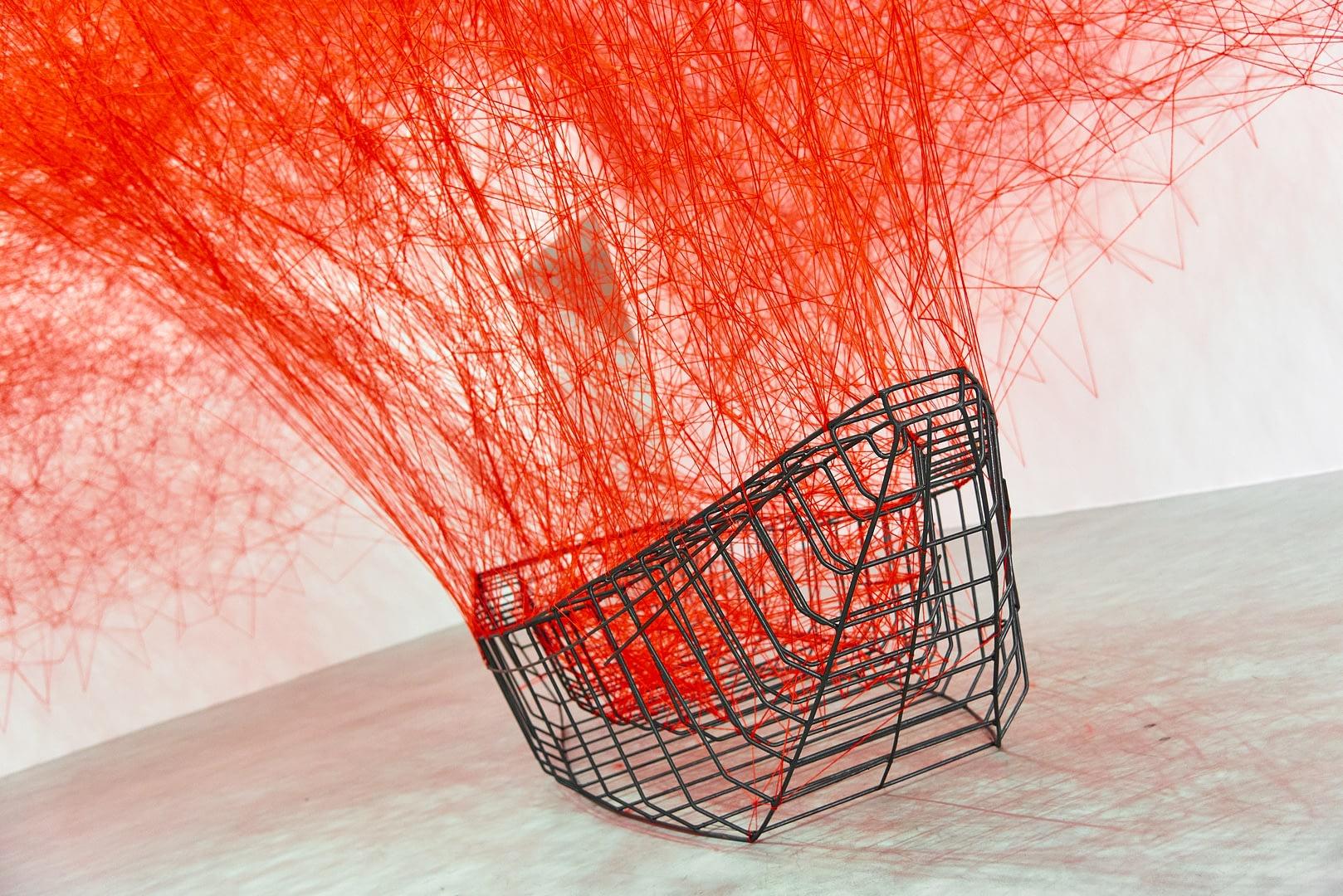 Chiharu Shiota at BlainSouthern für ArtBerlin 0068
