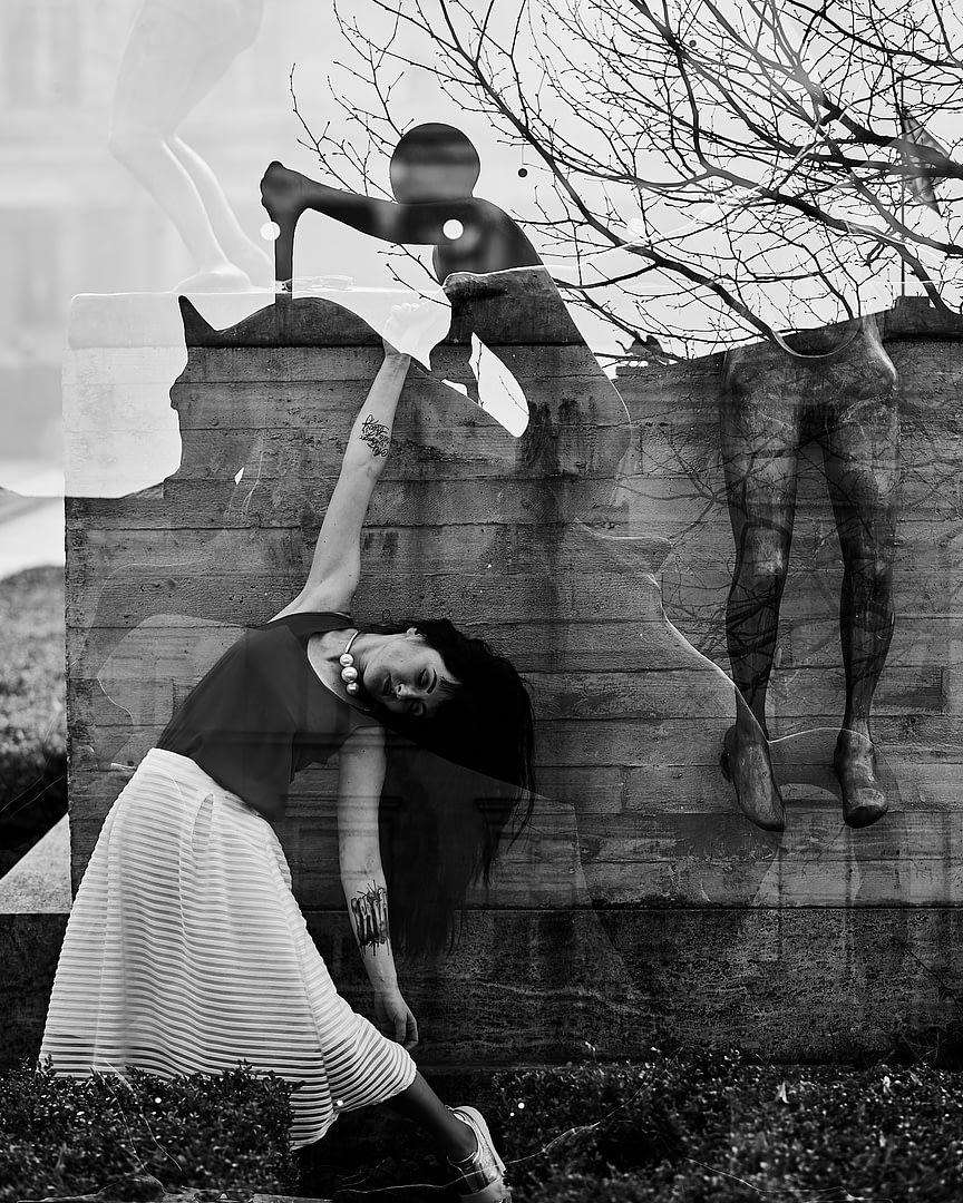 Fine-art Serie: Dancing with Ghosts | mit Kat de Ville 3