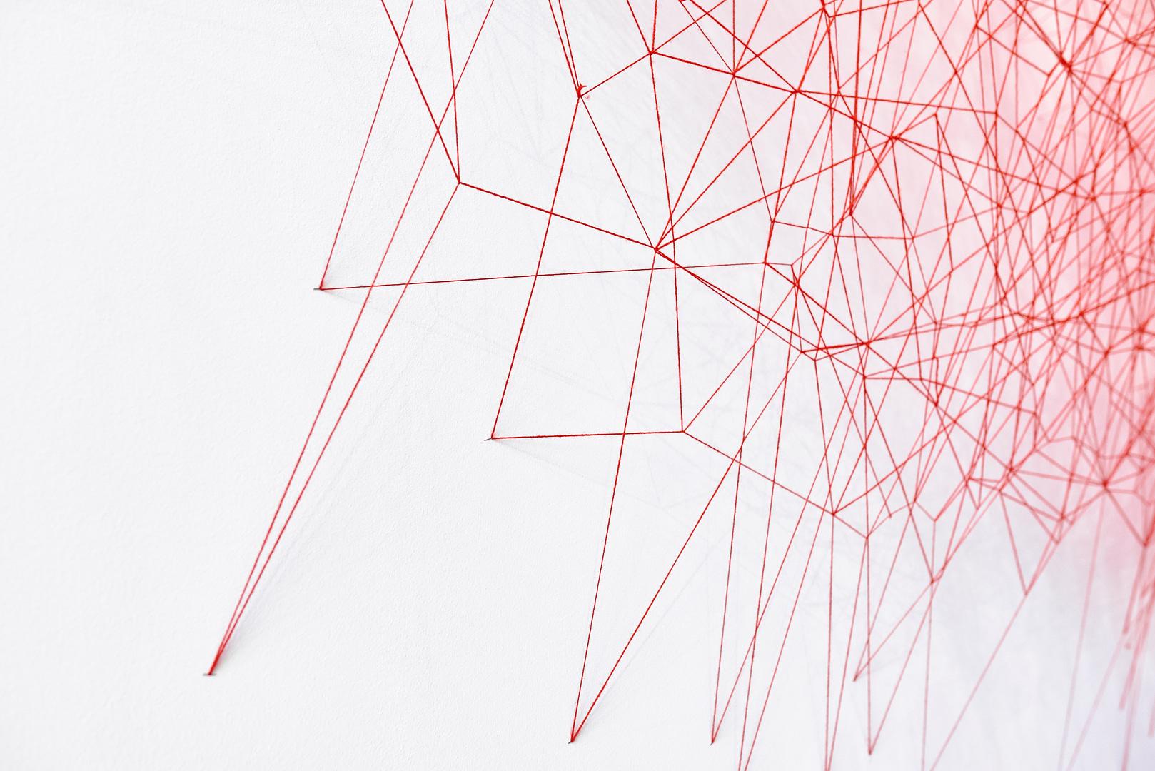Chiharu Shiota at BlainSouthern für ArtBerlin 0101