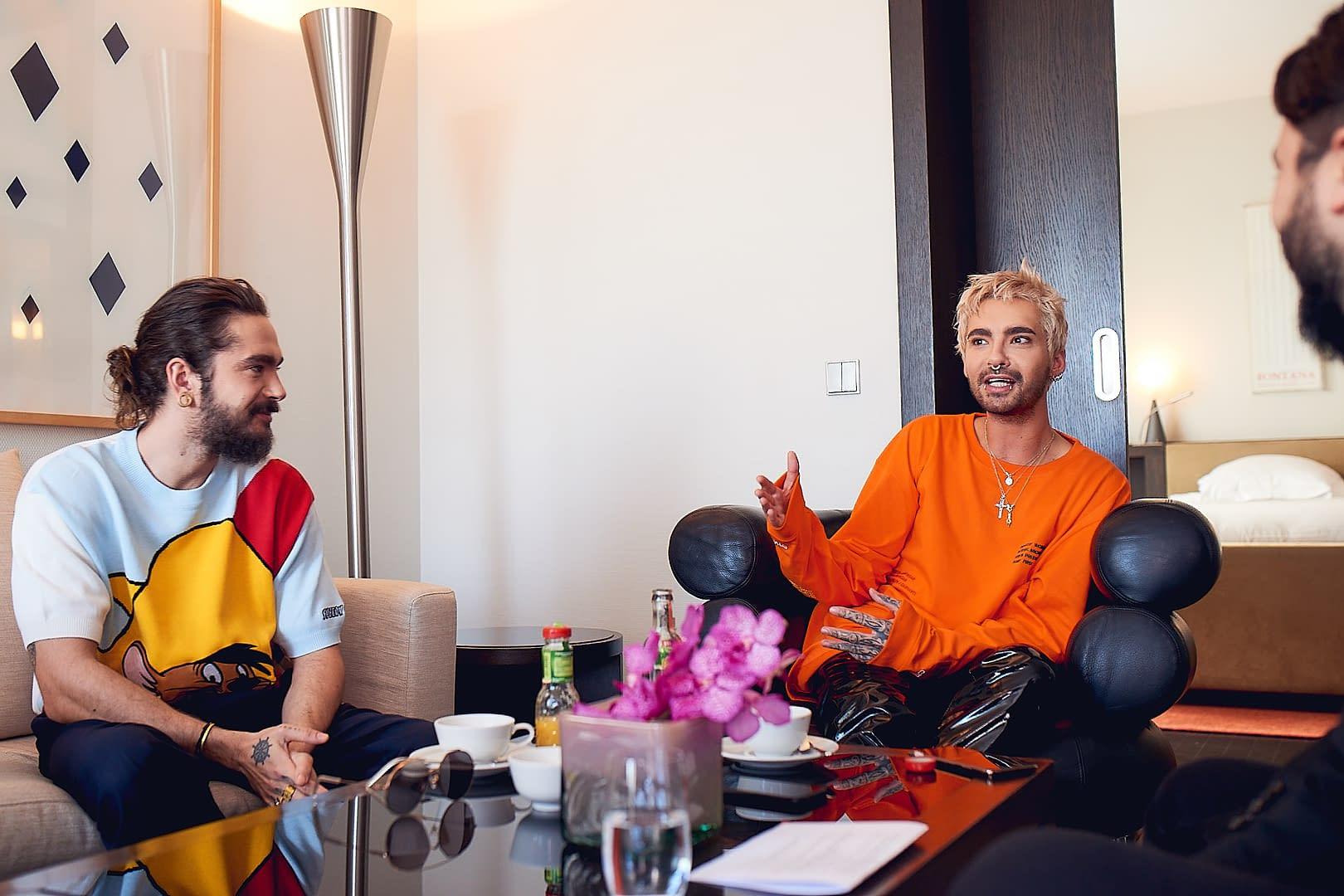 Tokio Hotel im NOIZZ-Interview, Interview Fotos