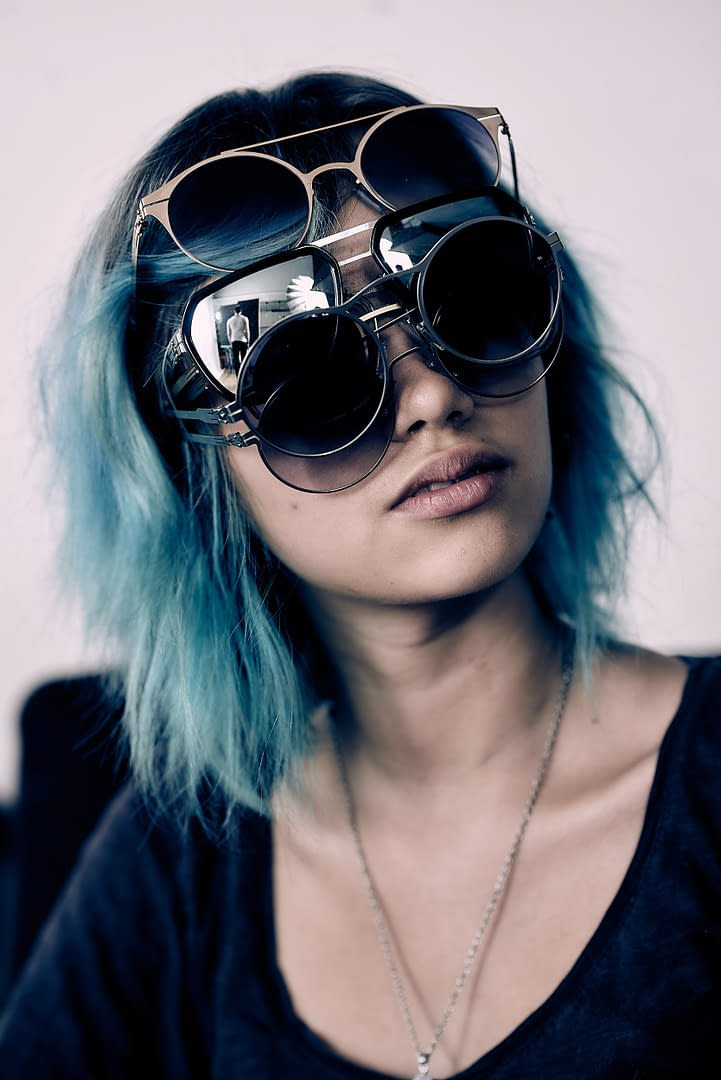 Eyewear Fashion Portrait 2017 by Martin Peterdamm Berlin. Einzigartigkeit in der Werbefotografie